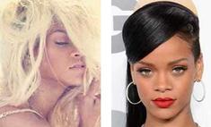 Из брюнетки в блондинку: Рианна вновь сменила образ