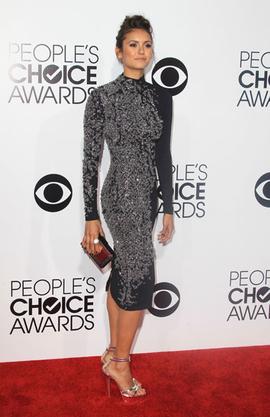 Нина Добрев на People's Choice Awards 2014