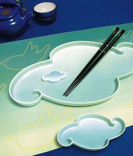 Комплект для сервировки суши Birds & Clouds, Alessi