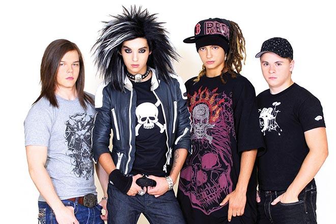 группа Tokio Hotel выступит в России