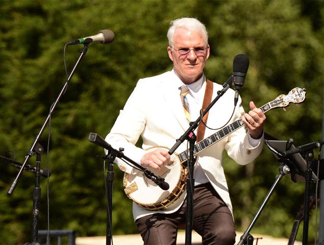 Стив Мартин, банджо
