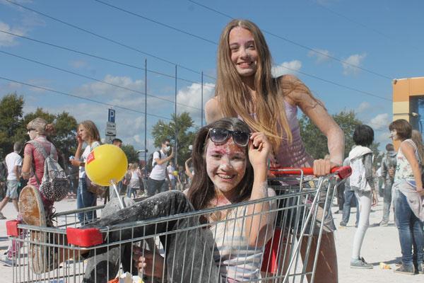 фестиваль красок в самаре 2014
