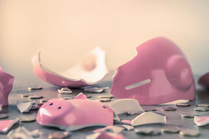 Финансовое неблагополучие передается по наследству?