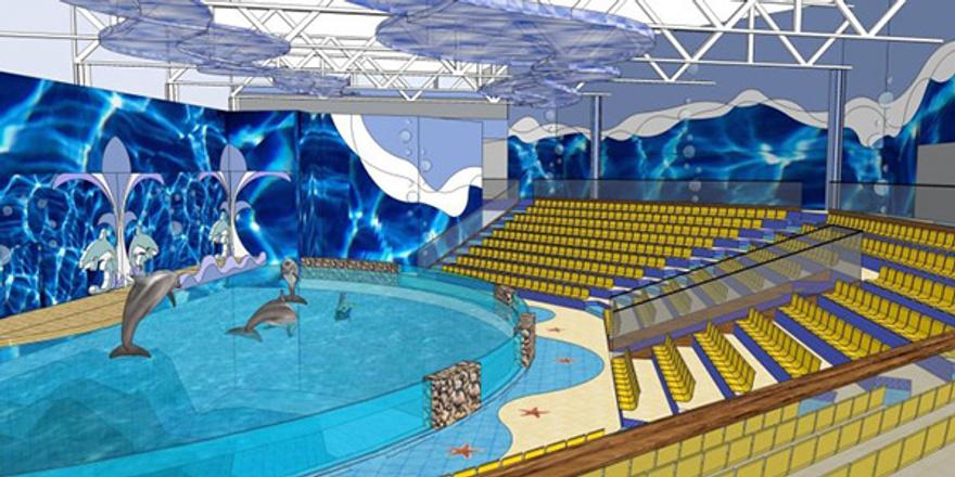 Дельфинарий в Екатеринбурге, фото