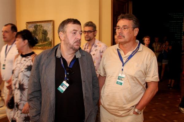 Режиссеры Павел Лунгин и Павел Чухрай
