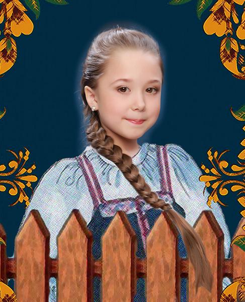 Мария Кадочникова, «Уральская краса – русская коса», фото