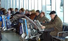 Аэропорт Домодедово обесточен из-за непогоды