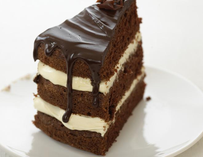 десерт негр в пене