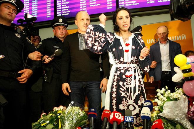 Выступление Джамалы на Евровидении: фото