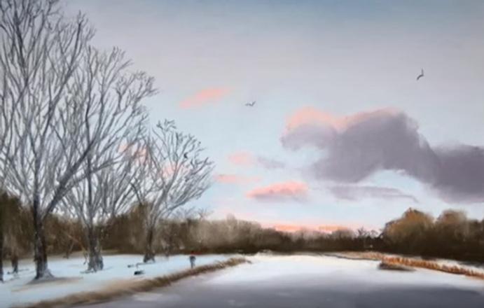 13-летний мальчик рисует как Моне: Кирон Уильямсон картины смотреть