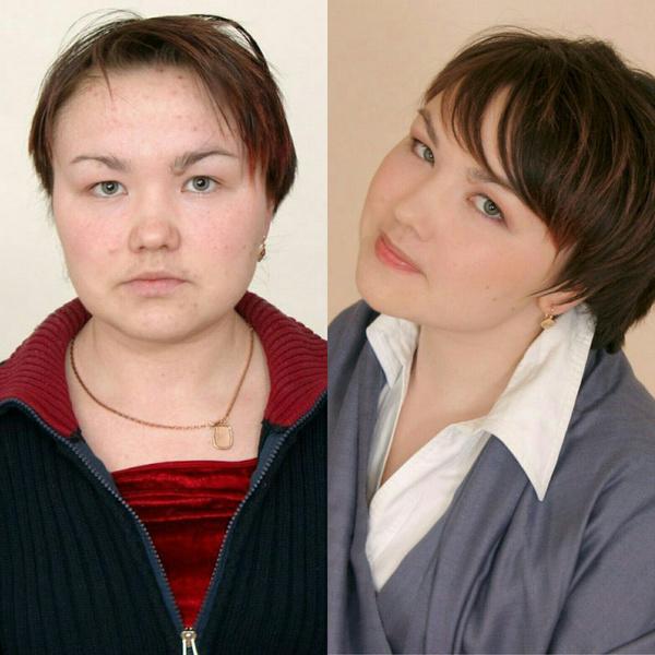 Преображение: до и после
