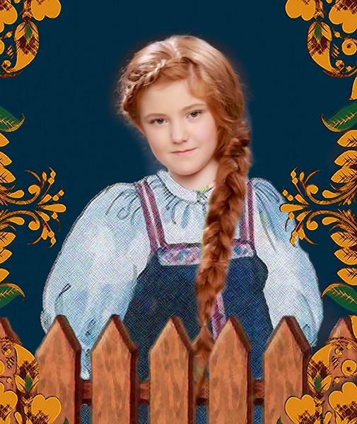 Александра Коурова, «Уральская краса – русская коса», фото