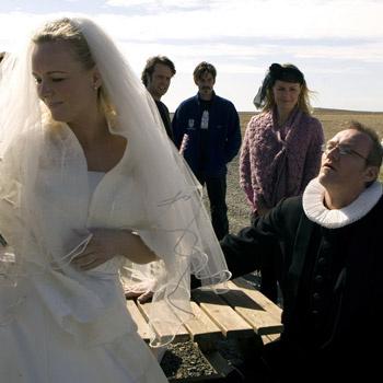 История про жениха, который заблудился по дороге на собственную свадьбу.