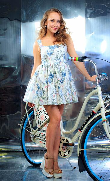 Марья Воробьева, участница «Мисс велогород-2016», фото