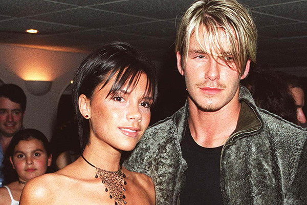 Виктория и Дэвид Бекхэмы, 1999 год