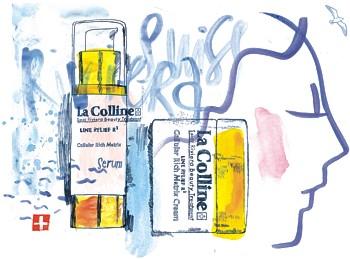 Сыворотка и крем Cellular Matrix Line Relief R3 La Colline.
