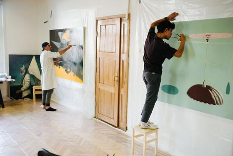 Открытие II Биеннале уличного искусства АРТМОССФЕРА | галерея [1] фото [6]