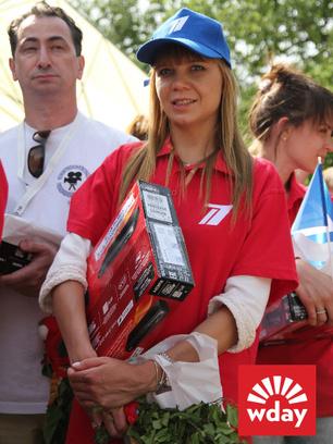 Благотворительная акция «Первого канала» «Стань первым» в Туле