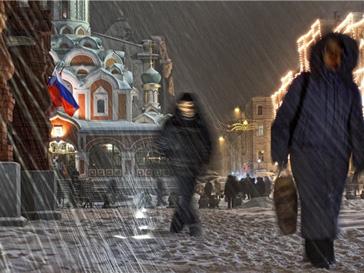 Погода в москве зимой