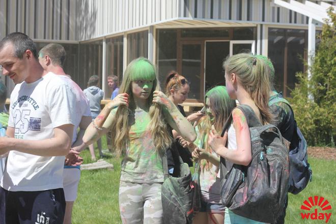 Фестиваль красок