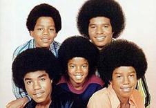 Участники группы Jackson Five на обложке одного из альбомов