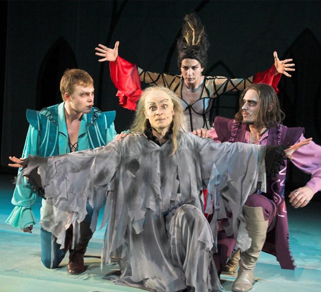 спектакль, театр, Кентервильское привидение