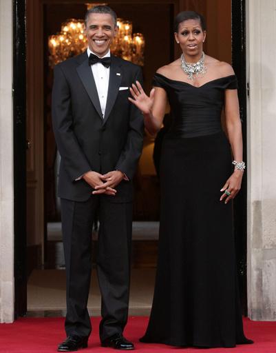 Мишель Обама (Michelle Obama) и Барак Обама (Barack Obama)