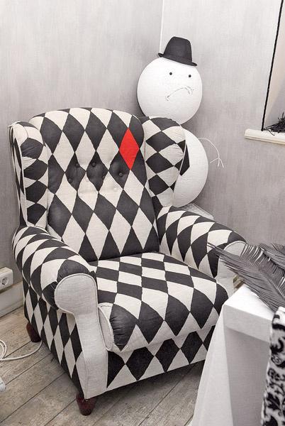 Как сделать кресло