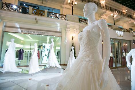 платья Alberta Ferretti в Петровском пассаже