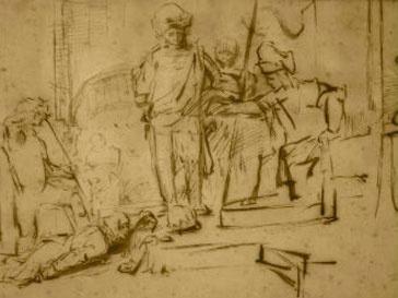 В Калифорнии похищен рисунок Рембрандта 16 55 года
