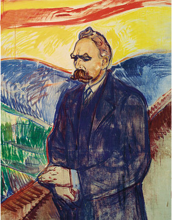 Эдвард Мунк. «Фридрих Ницше», 1906 год.