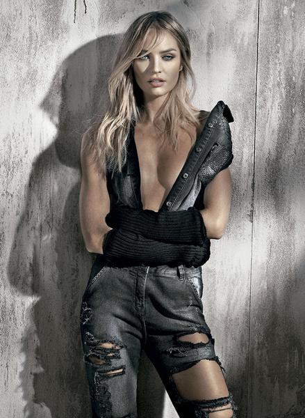 Кэндис Свейнпол снялась в новой рекламной кампании Osmoze   галерея [1] фото [1]