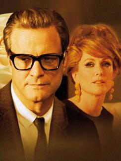 "Колин Ферт (Colin Firth) и Джулиана Мур (Julianne Moore) в фильме ""Одинокий мужчина"""