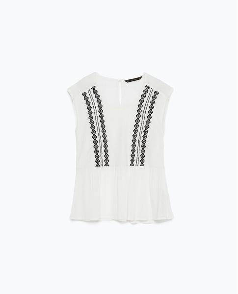 Топ Zara, 1199 рублей (с учетом скидки)