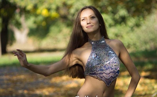 Наталья Бондаренко самая обворожительная восточная танцовщица Самары