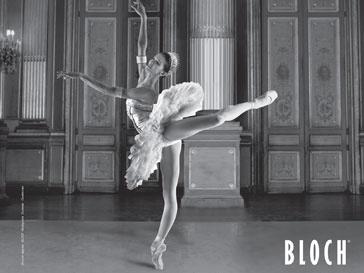BLOCH создавал свою обувь для танцоров