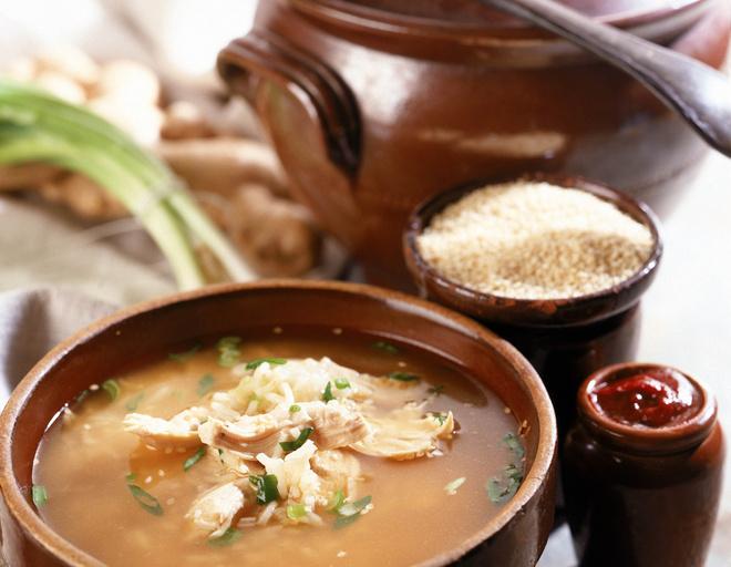 рецепт приготовления супа куриного с рисом