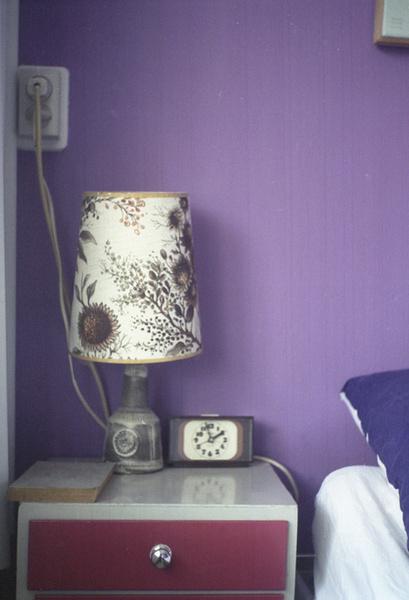 Лавандовый цвет в интерьере фото
