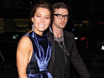 Джастин Тимберлейк (Justin Timberlake) и Джессикf Бил (Jessica Biel)