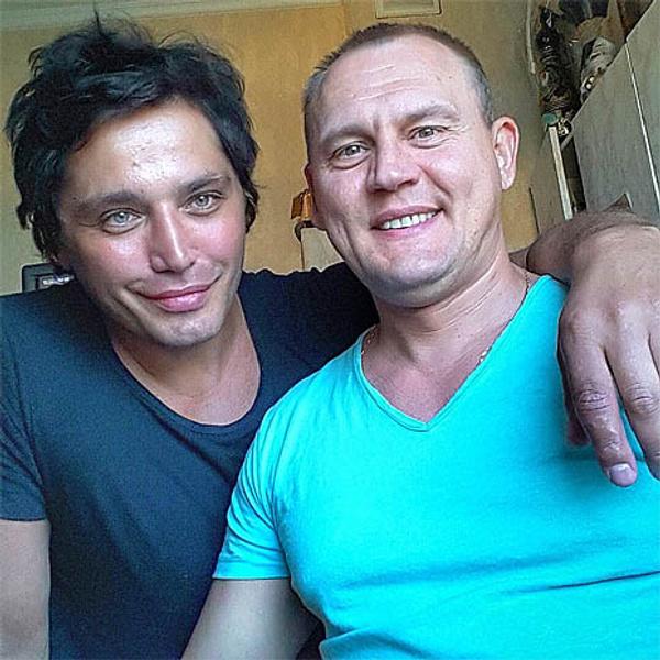 Степан Меньщиков и Рустам Солнцев, фото