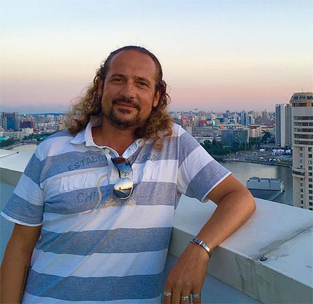 Алексей Ванченко, ведущий («Утренний Экспресс», «Четвертый канал»), фото