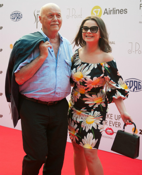 Станислав Говорухин и Наташа Королева