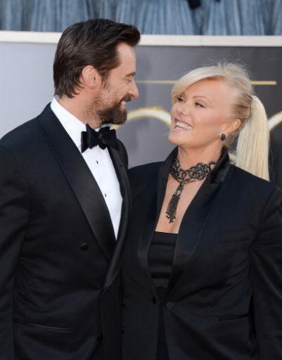 Хью Джекман (Hugh Jackman) с женой