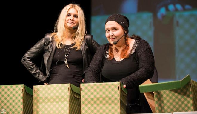 Татьяна Ларина и Екатерина Борисова – участницы «Битвы экстрасенсов»