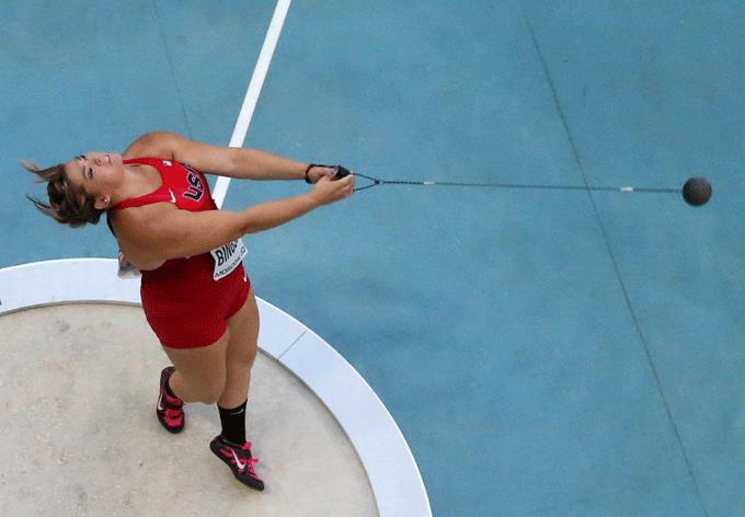 Чемпионат мира по легкой атлетике, Москва, 2013