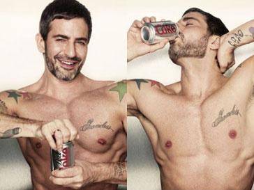 Марк Джейкобс (Marc Jacobs) в рекламе Diet Coke