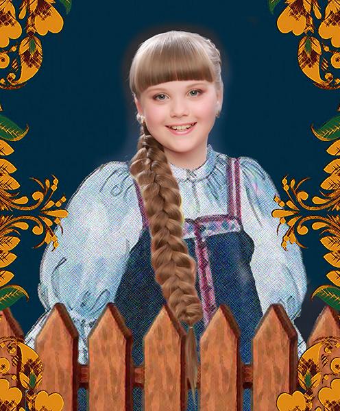 София Музипова, «Уральская краса – русская коса», фото