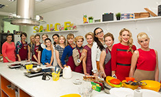 Кемеровские красавицы соревновались в приготовлении блюд