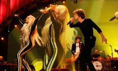 Леди ГаГа спела с The Rolling Stones