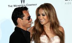 Дженнифер Лопес и Марк Энтони отметили переезд новой свадьбой